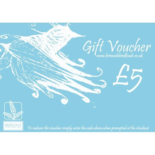 Brinvale Five Pound Gift Voucher