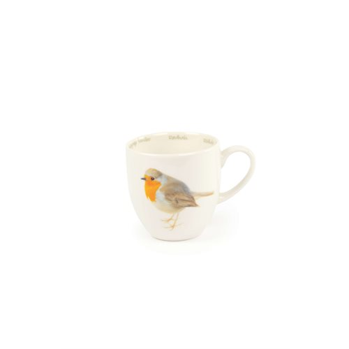 CJ Wildlife Robin Mug