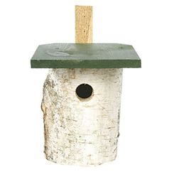 Birch Wood Nest Box