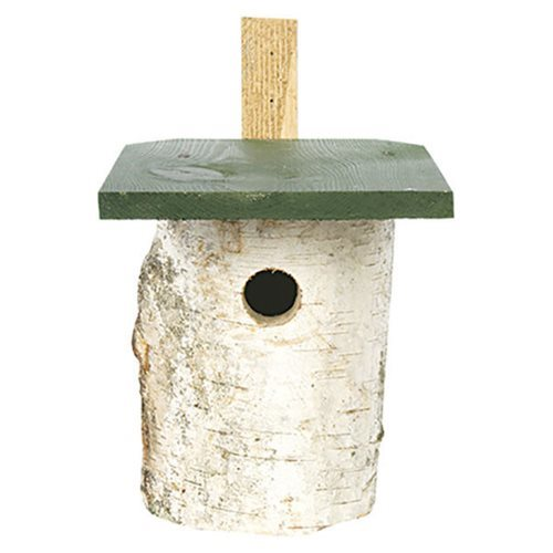 CJ Wildlife Birch Wood Nest Box