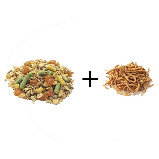 Image for Blackbird Food w/Free Dried Mealworms