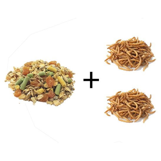 additional image for Blackbird Food w/Free Dried Mealworms