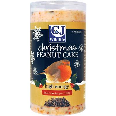 CJ Wildlife Christmas Peanut Suet Cake