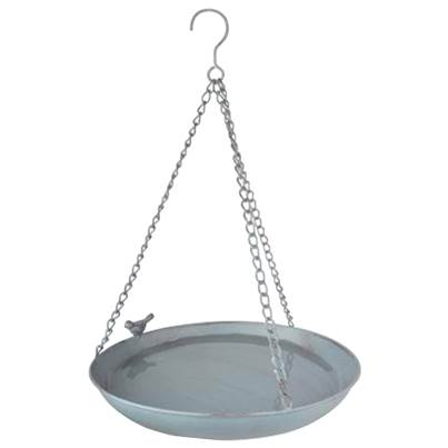 Fallen Fruits Metal Bird Bath