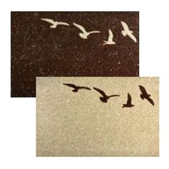 Flying Bird Door Mat