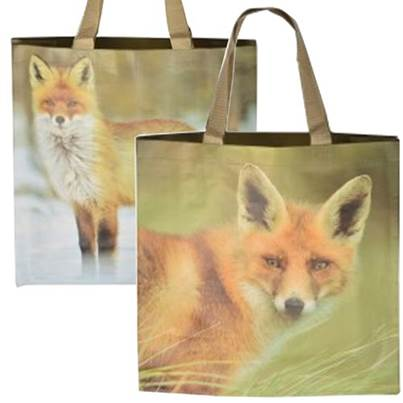 Fallen Fruits Wildlife Pattern Tote Bags