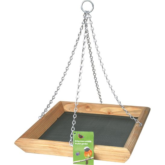 Image for Hanging Bird Feeder Tray