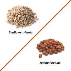 Peanut / Sunflower Heart Wild Bird Multi Pack