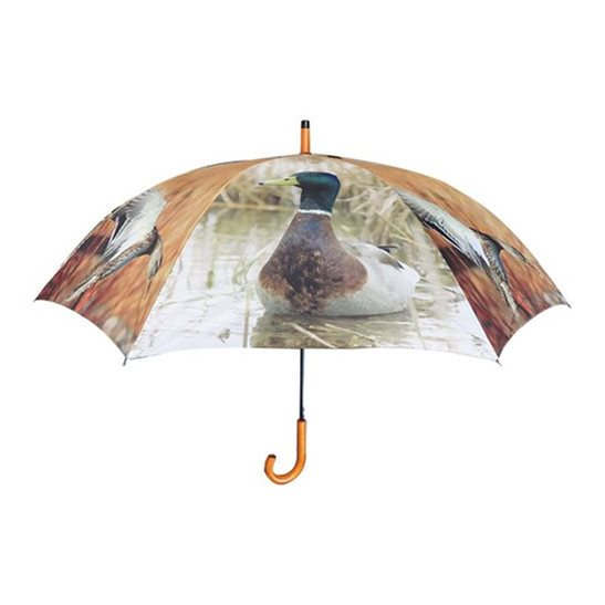 additional image for Large Duck Print Umbrella