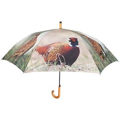 Large Pheasant Print Umbrella