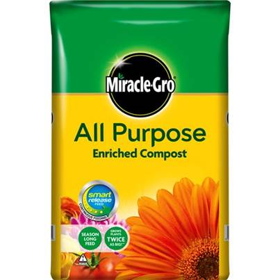 Miracle Gro Miracle Gro All Purpose Enriching Compost 50 Litre
