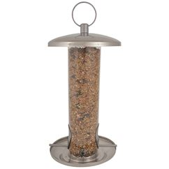 Metal Bird Seed Feeder