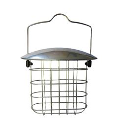 Metal Suet Block Feeder