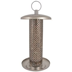 Metal Sunflower Heart Feeder