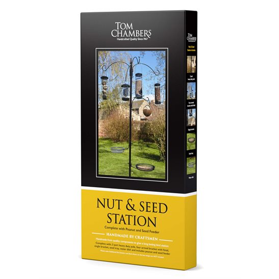 Image for Nut & Seed Bird Feeding Station
