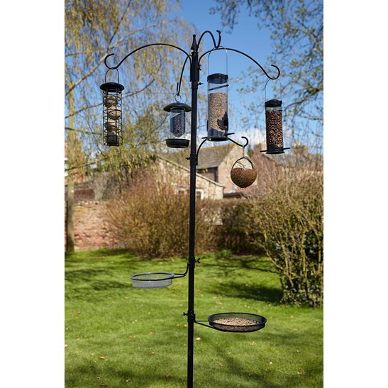 additional image for Nut & Seed Bird Feeding Station