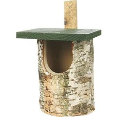 Open Fronted Birch Nest Box