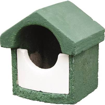CJ Wildlife Open Fronted Woodstone Nest Box