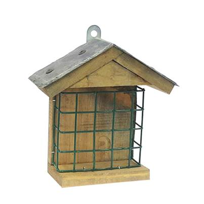CJ Wildlife Slate Roof Suet Feast Feeder