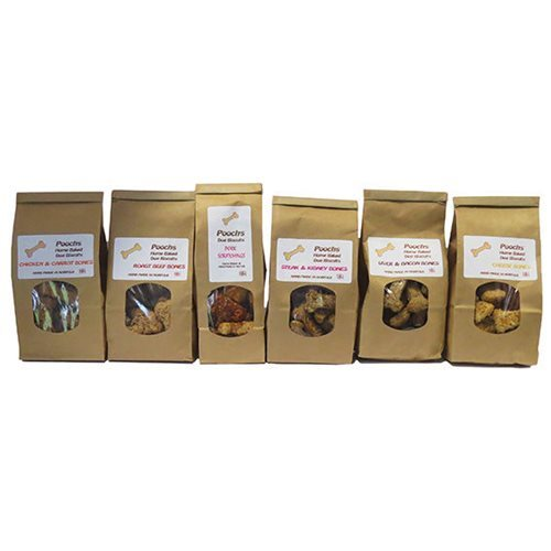 Pooch's Poochs All Natural Dog Treats