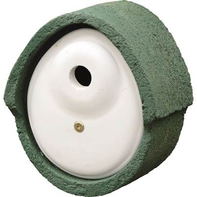 CJ Wildlife Woodstone Oval Bird Box 32mm