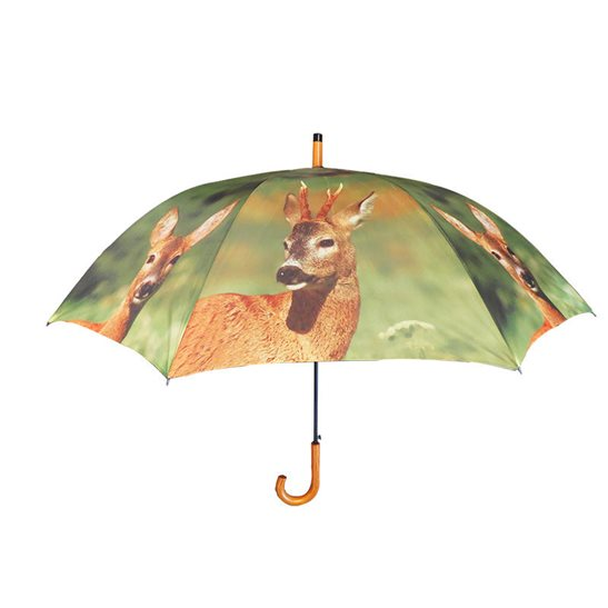Image for Large Deer Print Umbrella