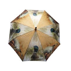 Large Duck Print Umbrella