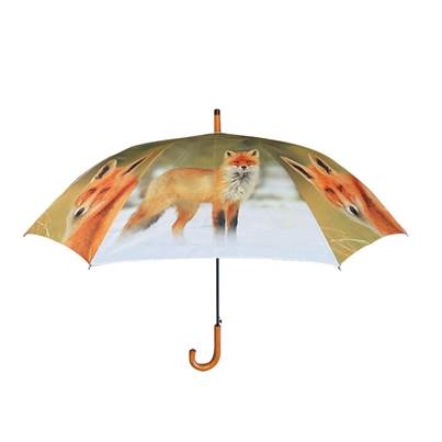 Brinvale Large Fox Print Umbrella