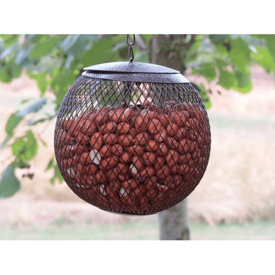 additional image for Metal Globe Peanut Feeder