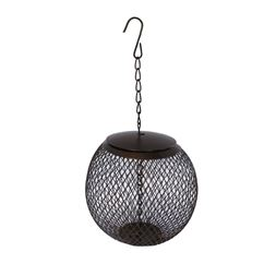 Metal Globe Peanut Feeder