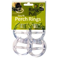 Easy Fit Perch Rings Pack of 4